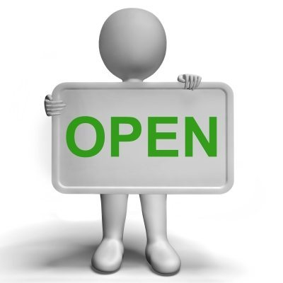 Open - Sign