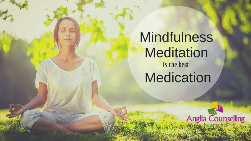 Mindfulness meditation anxiety stress