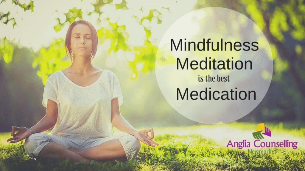 Mindfulness meditation anxiety stress