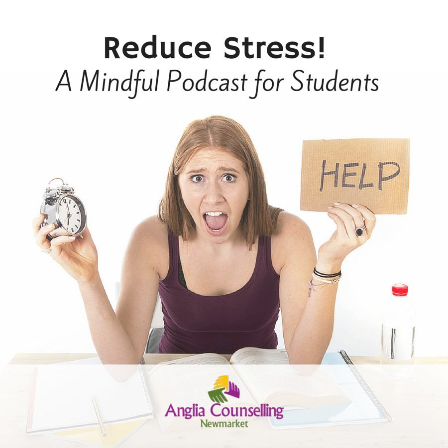 Reduce stress mindful podcast for students