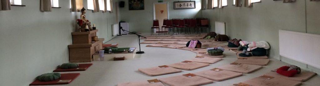 Amaravati Retreat Centre 'Shrine' Room